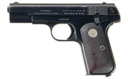 Colt Model 1903 Pocket Hammerless Semi-Automatic Pistol
