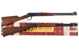 Two Winchester Model 94 Lever Action Carbines