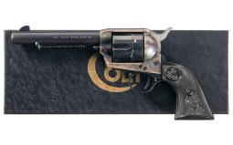 Second Generation Colt Single Action Army Revolver