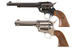 Two Single Action Revolvers