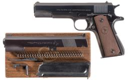 Colt Super 38 Semi-Automatic Pistol with .22 LR Conversion Kit