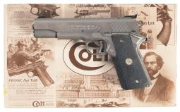 Colt Gold Cup National Match Semi-Automatic Pistol with Box
