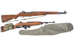 Two U.S. Military Semi-Automatic Long Guns