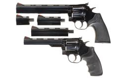 Two Dan Wesson Double Action Revolvers