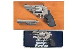 Two Smith & Wesson Double Action Revolvers