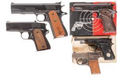 Five Pistols