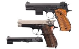 Two Smith & Wesson Semi-Automatic Pistols