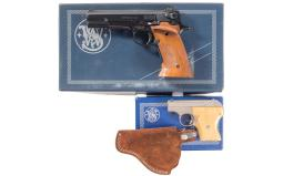 Two Smith & Wesson Semi-Automatic Pistols with Boxes