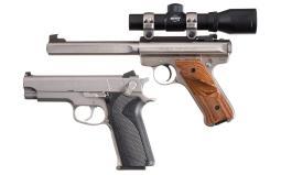 Two Sporting Semi-Automatic Pistols