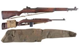 Two U.S. Semi-Automatic Long Guns