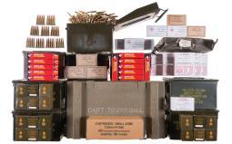 Large Grouping of Rifle Ammunition