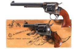 Two Reproduction Single Action Revolvers