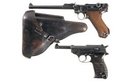 Two German Semi-Automatic Military Pistols