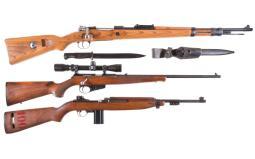 Three Longarms