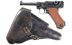 DWM 1914 Dated Luger Pistol