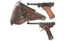 Two Military Semi-Automatic Pistols