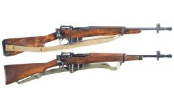 Two British Bolt Action Military Carbines