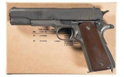 U.S. Remington Rand Model 1911A1 Pistol with Accessories
