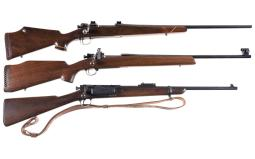Three U.S. Military Bolt Action Longarms