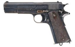 British Proofed Colt Government Model Semi-Automatic Pistol