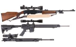 Two Rifles with Scopes
