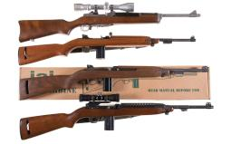 Four Semi-Automatic Carbines
