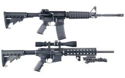 Two Smith & Wesson Semi-Automatic Carbines