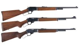 Three Marlin Lever Action Carbines