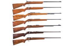 Seven Remington Bolt Action Rifles