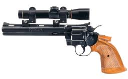 Colt Python Double Action Revolver with Scope