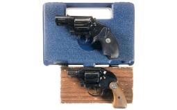 Two Colt Detective Special Double Action Revolvers