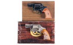 Two Colt Detective Special Double Action Revolvers with Boxes