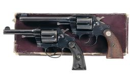 Two Colt Police Positive Double Action Revolvers