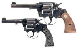 Two Colt DA Revolvers