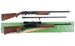 Two Remington Longarms