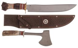 Two J. Behring Edged Weapons