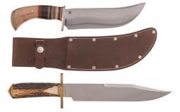 Two Custom Knives