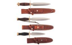 Three Randall Stilettos
