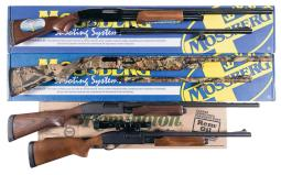 Four Slide Action Shotguns