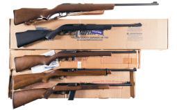 Five Sporting Long Guns