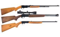 Three Browning Rifles