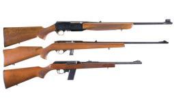 Three Semi-Automatic Long Guns