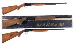 Three Sporting Rifles