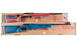 Two Marlin Target Rifles with Boxes