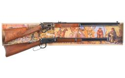 Two Sporting Lever Action Long Guns