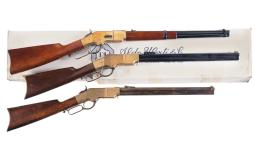 Three Reproduction Lever Action Long Guns