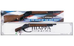 Two Lever Action Shotguns with Boxes