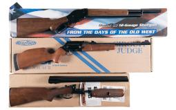 Three Shotguns with Boxes