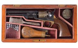Cased Colt Model 1849 Pocket Percussion Revolver