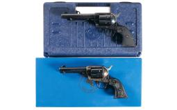 Two Colt Single Action Army Revolvers